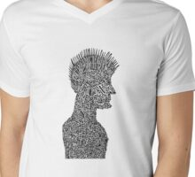 Puzzled Original Mens V-Neck T-Shirt