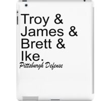 Pittsburgh Defense iPad Case/Skin