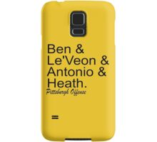 Pittsburgh Offense Samsung Galaxy Case/Skin
