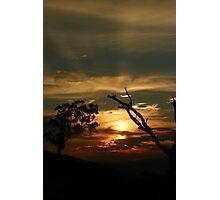Last Rays Photographic Print
