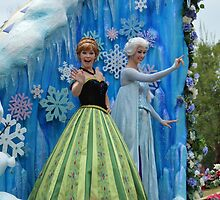 Disney Frozen Anna Elsa Disney Olaf Queen Princess by notheothereye