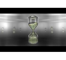 Hourglass - An Homage to Computers Photographic Print