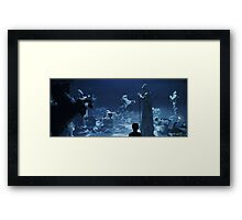 Wizard Chess Framed Print