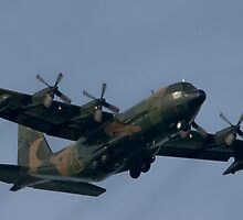 Hercules on approach to Payar Lebar  by PDP1