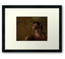 The Sensual Self Framed Print