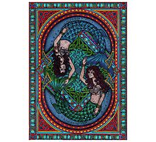 Celtic mermaids Photographic Print