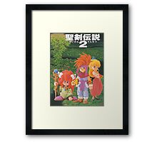 Secret of Mana Characters ~ Japan Framed Print