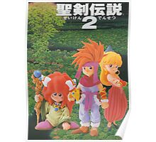 Secret of Mana Characters ~ Japan Poster