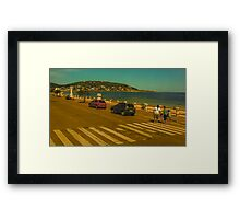 Beautiful Day in Piriapolis Uruguay Framed Print
