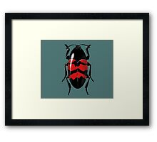 some insect doing nothing Framed Print