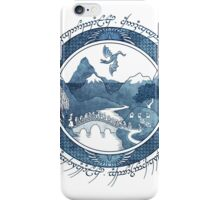 There And Back Again iPhone Case/Skin