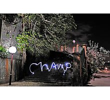 Virtual Graffiti Photographic Print