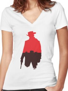 Unchained? Women's Fitted V-Neck T-Shirt