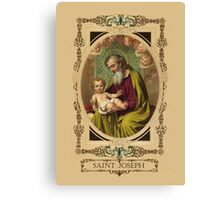 Saint Joseph Canvas Print