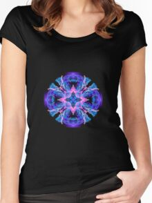 Star Orb  Women's Fitted Scoop T-Shirt