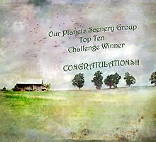 "Bucolic Vision- ""Our Planets Scenery Group"" Winner Banner Challenge by Susan Werby"