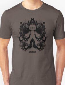 Megaman Nintendo Geek Psychological Diagnosis Ink Blot Unisex T-Shirt