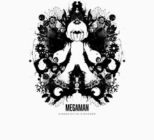 Megaman Nintendo Geek Psychological Diagnosis Ink Blot Unisex T-Shirt