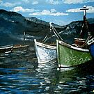 Harbour Scene by Cherie Roe Dirksen