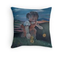 There's a storm a-coming... Throw Pillow