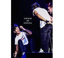Louis & Harry  Photographic Print