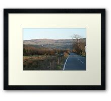 COUNTRY ROAD.  Framed Print