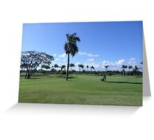 Golf Course In Punta Cana Greeting Card