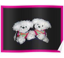 Stuffed bears Poster