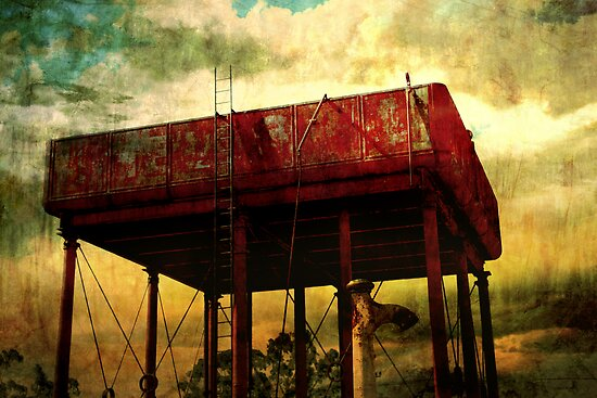 Water Tower by Tony Lomas