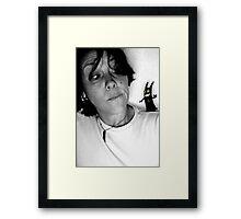 T E M P T A T I O N Framed Print