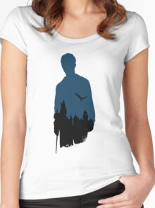The boy who lived. Women's Fitted Scoop T-Shirt