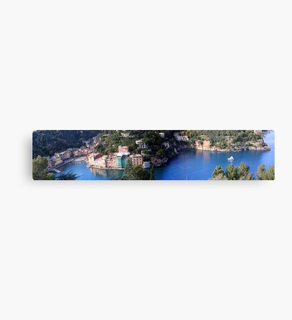 Portofino, Ligury Canvas Print
