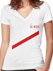 Knights of Sidonia Inspired Tee Women's Fitted V-Neck T-Shirt