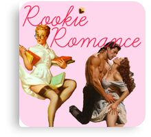 Rookie Romance blog Logo Canvas Print