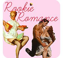 Rookie Romance blog Logo Photographic Print