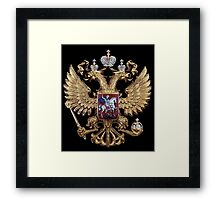 Russian coat of arms Framed Print