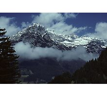 In the Austrian Alps Photographic Print