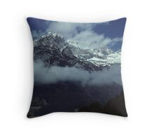 In the Austrian Alps Throw Pillow