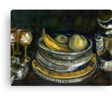 China Cabinet Still Life I (study) Canvas Print