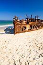 Maheno Shipwreck by Walter Quirtmair