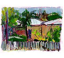 Nundah Sketch Photographic Print