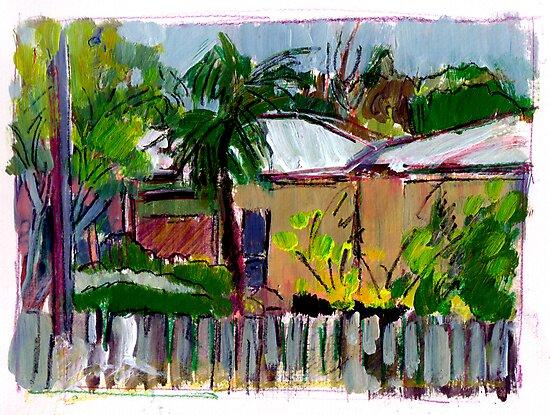 Nundah Sketch by Paul  Milburn