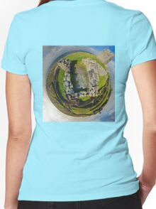 O'Brien Fort Inisheer, Aran Islands, Ireland Women's Fitted V-Neck T-Shirt