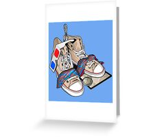 Decem Stuff Greeting Card