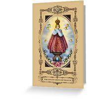 The Infant Jesus of Prague Greeting Card
