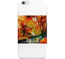 Stream Of Autumn — Buy Now Link - www.etsy.com/listing/211797644 iPhone Case/Skin