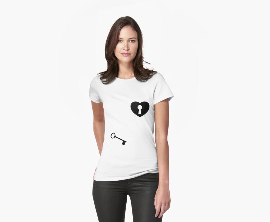 heart Key by SideWalkChalk
