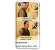 dress code iPhone Case/Skin