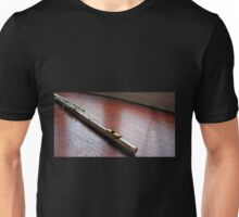 Silver and Gold - Flute Headjoint  Unisex T-Shirt