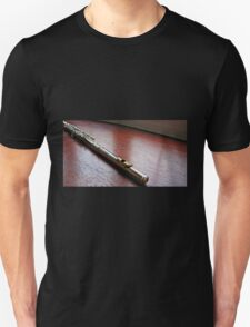 Silver and Gold - Flute Headjoint  T-Shirt